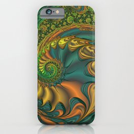 Dragon's Lair - Fractal Art iPhone Case