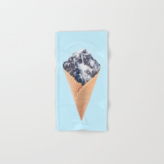 ICE CREAM MOUNTAIN Hand & Bath Towel
