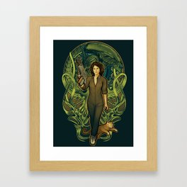 Come On, Cat Framed Art Print