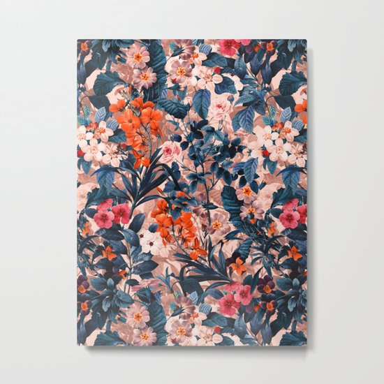 Summer Botanical Garden XI Metal Print