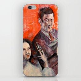 Quiet and Cool: Sachiko and Toshiro Mifune iPhone Skin