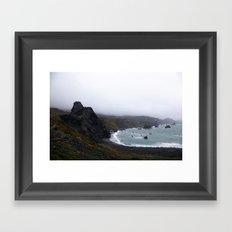 west coast vibes Framed Art Print