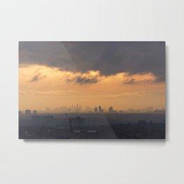 City Sky. Metal Print