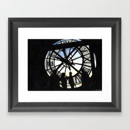Musée d'Orsay Clock Framed Art Print