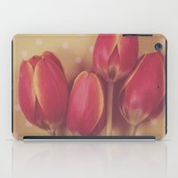 antique iPad Cases featuring Antique Tulips by Jessica Torres Photography