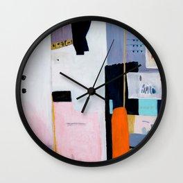 Behind the scenes Wall Clock
