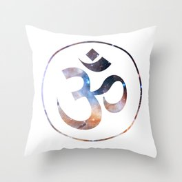 Om stars symbol Throw Pillow