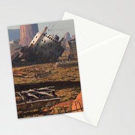 Morning walk Stationery Cards
