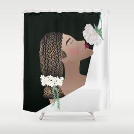 El amor como afeem Shower Curtain