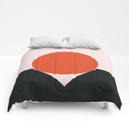 Sunset Golfing Comforters