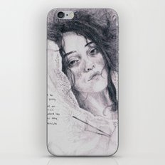 Drowning Sky iPhone & iPod Skin