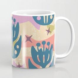 Mid Century Modern Butterfly Garden 204 Coffee Mug