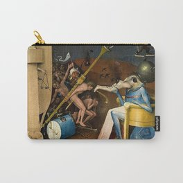 The Garden of Earthly Delights Bosch Hell Bird Man Carry-All Pouch