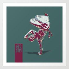 Capoeira 367 Art Print