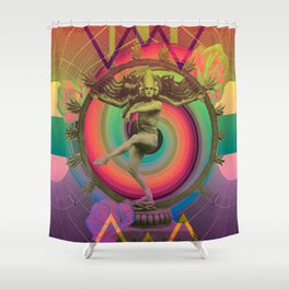 The Trip Shower Curtain