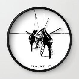 Flaunt it Wall Clock