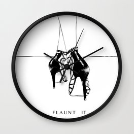 Flaunt it Wall Clock