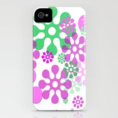 Pink and Green iPhone (4, 4s) Slim Case