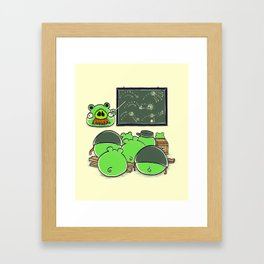 Survival Strategy Framed Art Print