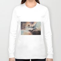 wind Long Sleeve T-shirts featuring Wind by Erica Wexler