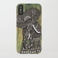 ornate elephant iPhone & iPod Cases featuring Ornate Elephant by ArtLovePassion