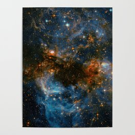Galaxy Storm Poster