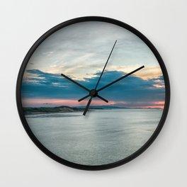 White rocks beach,ireland,Northern Ireland,Portrush Wall Clock