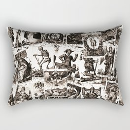 Tarot cards pattern Rectangular Pillow