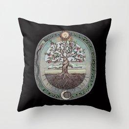 Origins Tree of Life Throw Pillow
