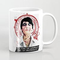 "silent hill Mugs featuring Silent Hill - It's time to complete the ""21 Sacraments"" by Emme Gray"
