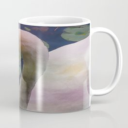 Mute Swan - Water Color Coffee Mug