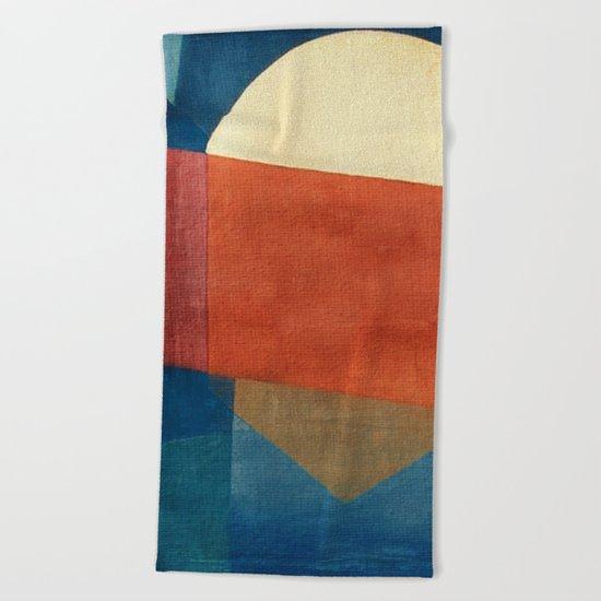 Il Riflesso della Luna Beach Towel