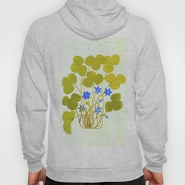 The blue and the green Hoody
