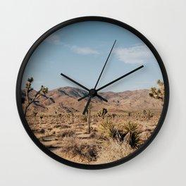 Joshua Tree, CA Wall Clock