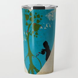 cultivating peace Travel Mug
