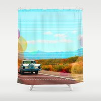 freedom Shower Curtains featuring Freedom by Kakel-photography