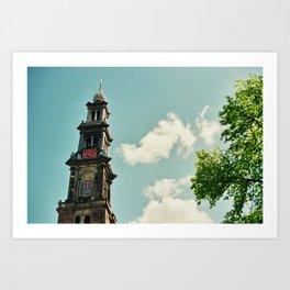 Nieuwe Kerk Art Print