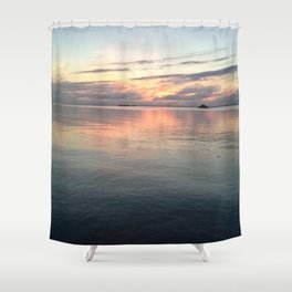 The perfect morning Shower Curtain
