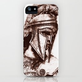 Spartan Hoplite iPhone Case
