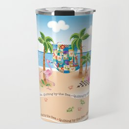 Quilting by the Sea Travel Mug