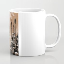Flying Islands Coffee Mug