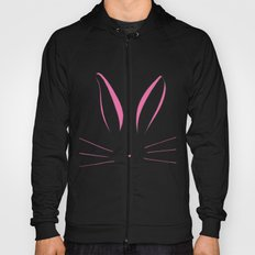Pink Bunny Hoody