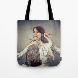 draw the best of you Tote Bag