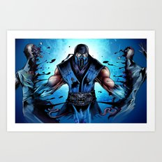 Mighty Sub Zero Art Print