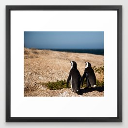 Penguin Vistas Framed Art Print