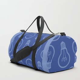 BlueLight Bulb Duffle Bag