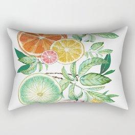 Citrus Fruit Rectangular Pillow