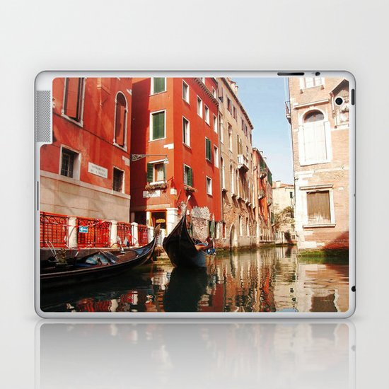 Venice, Italy. Gondola. Laptop & iPad Skin