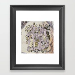 dream home Framed Art Print