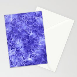 Frozen Leaves 19 Stationery Cards